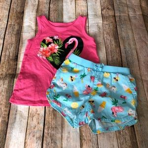 Children's Place Short Set Size 4T